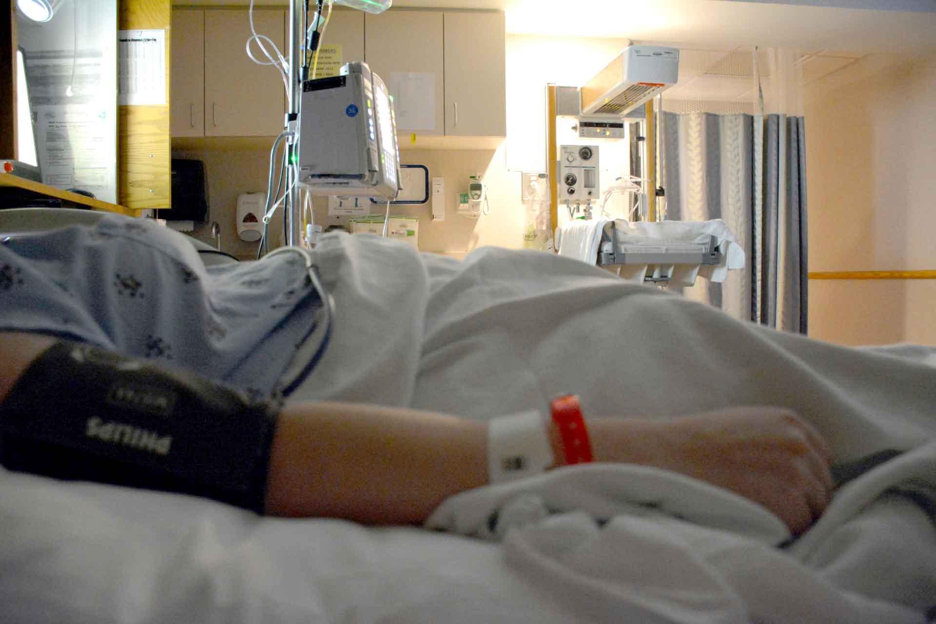 image of injury victim